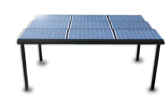 car port photovoltaïque irfts